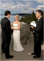 Lake Tahoe Wedding Minister